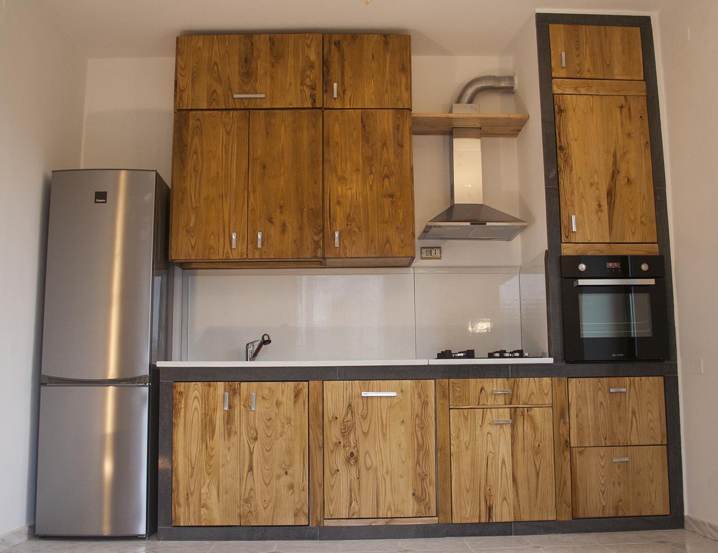 cucina pietra lavica smaltata-madeinlava